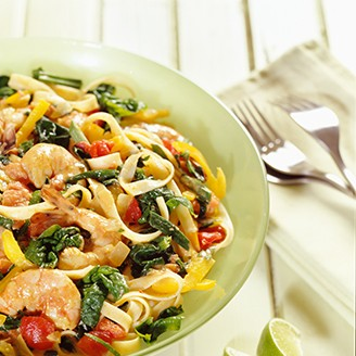 Healthy Recipes – Shrimp pasta with a twist