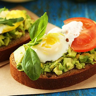 Healthy Recipes – Egg & Avocado Toast