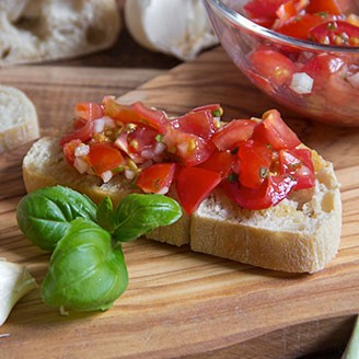 Healthy Recipes – Jersey's Bruschetta