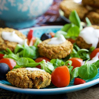 Healthy Recipes – Baked Falafel