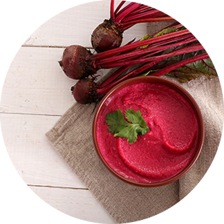 Healthy Recipes – Beet & red lentil hummus