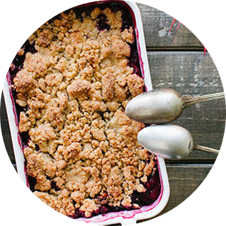 Healthy Recipes – Fruit Crisp Pie