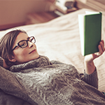 Reading before bed can help you wind down