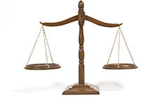Checks and Balances Scale